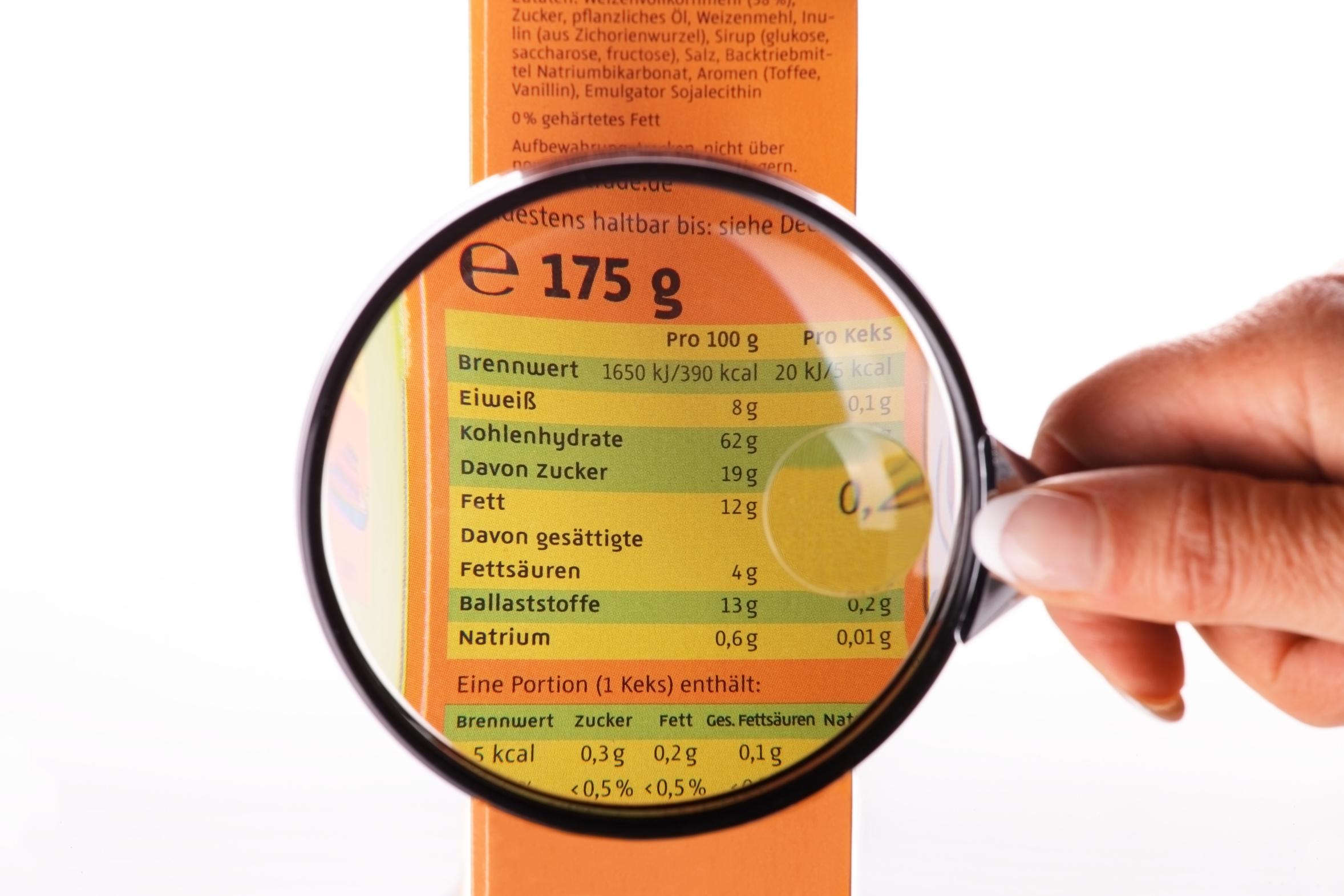 Neues Lebensmittel-Kennzeichnungsrecht