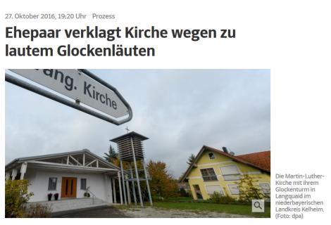RA Jürgen Linhart erreicht Einigung im Glockenstreit von Langquaid