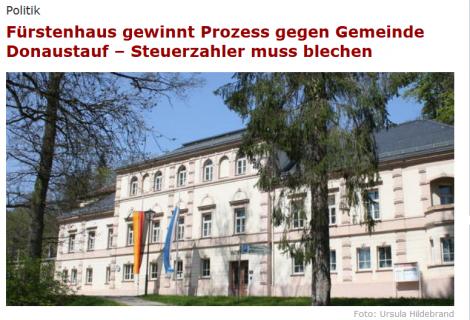 Erfolgreich vor dem Bayerischen Verwaltungsgerichtshof – Bebauungsplan der Gemeinde Donaustauf rechtswidrig.