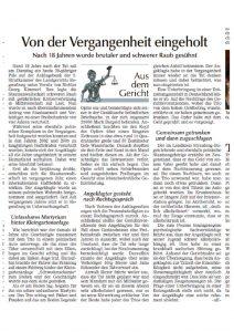 thumbnail of Straubinger Tagblatt_Von der Vergangenheit eingeholt